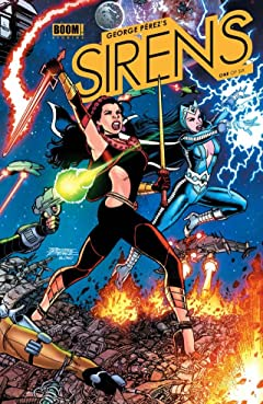 George Perez's Sirens #1 (of 6)