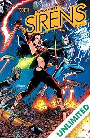 George Perez's Sirens #1 (of 6)