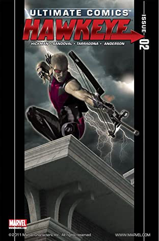 Ultimate Comics Hawkeye #2 (of 4)