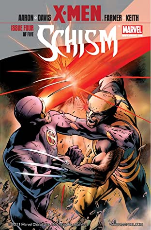 X-Men: Schism No.4 (sur 5)