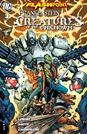Flashpoint: Frankenstein and the Creatures of The Unknown #3 (of 3)