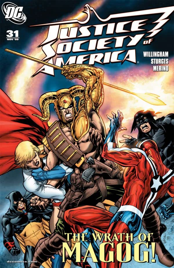 Justice Society of America (2007-2011) #31