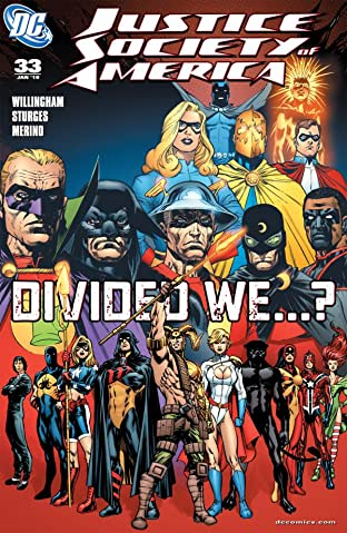 Justice Society of America (2007-2011) #33