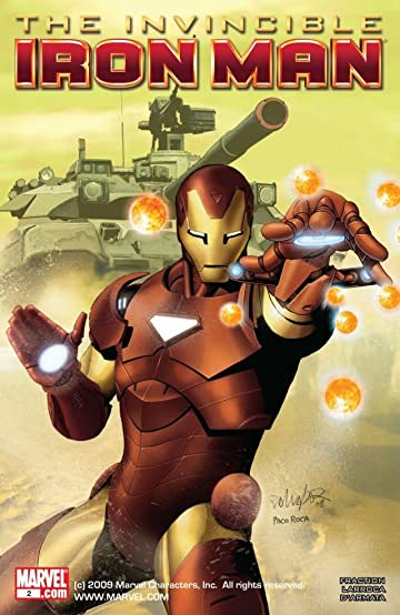 Invincible Iron Man (2008-2012) #2