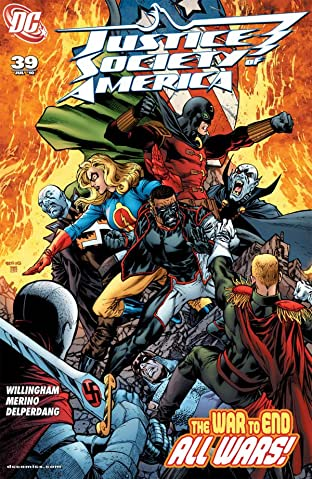 Justice Society of America (2007-2011) #39