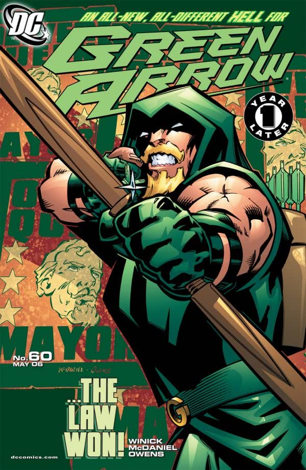 Green Arrow (2001-2007) #60