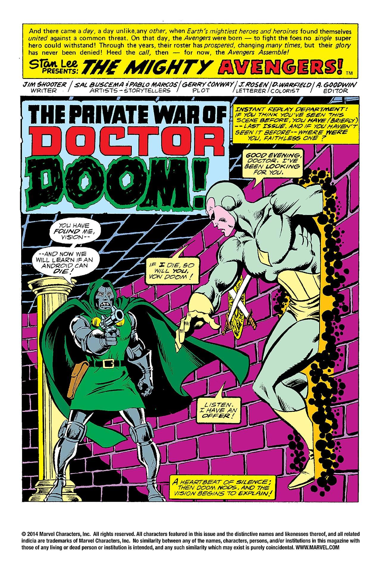 Avengers (1963-1996) #156
