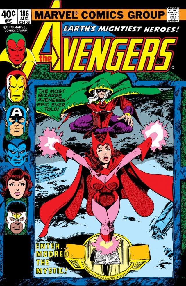 Avengers (1963-1996) #186