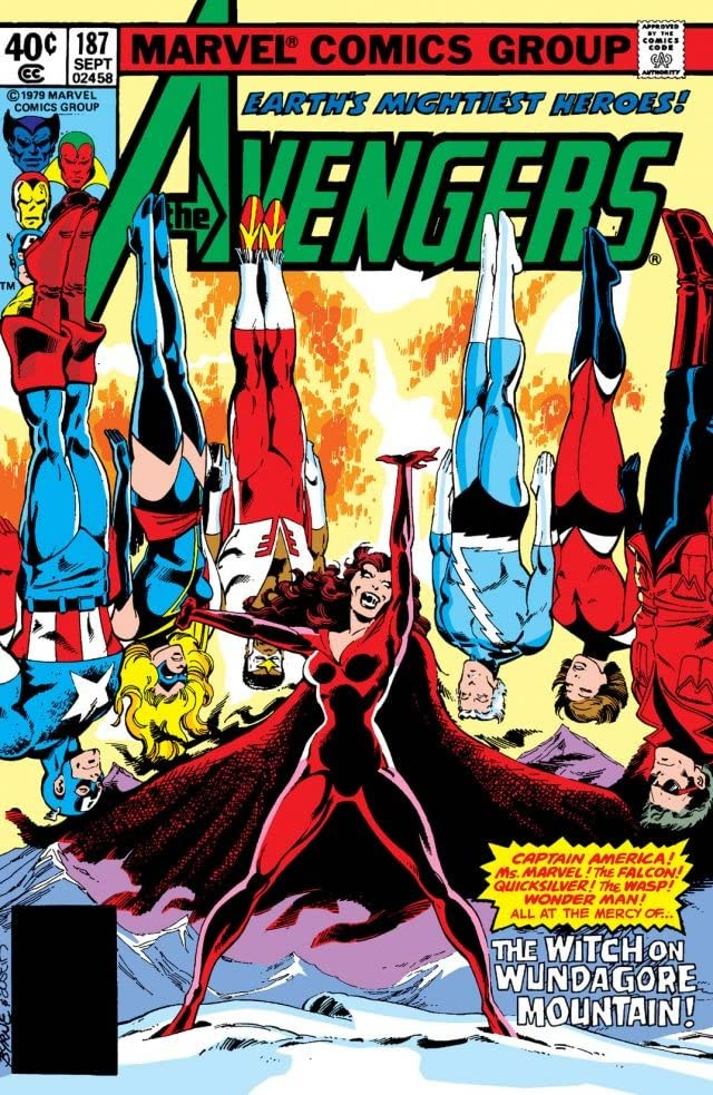 Avengers (1963-1996) #187