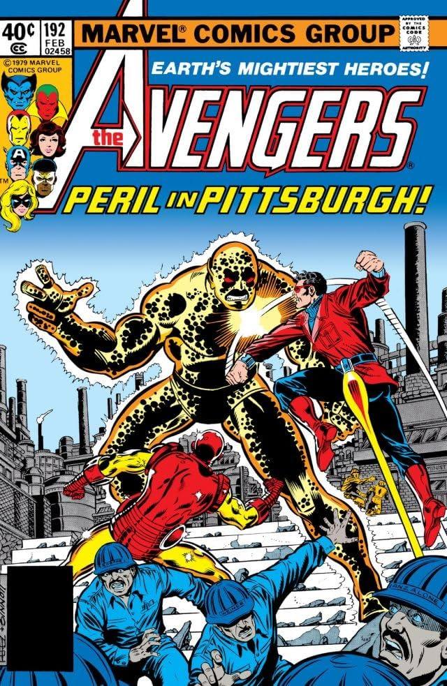 Avengers (1963-1996) #192