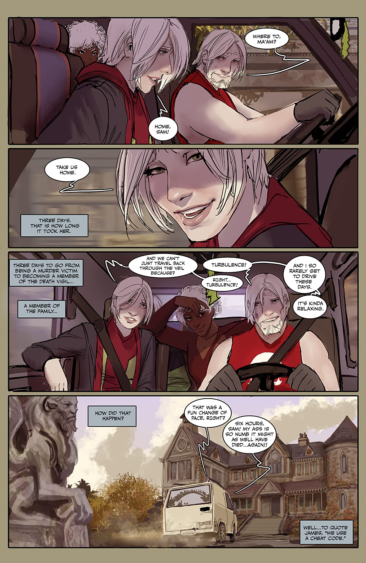 Death Vigil #3 (of 8)