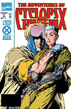The Adventures of Cyclops and Phoenix (1994) No.2 (sur 4)