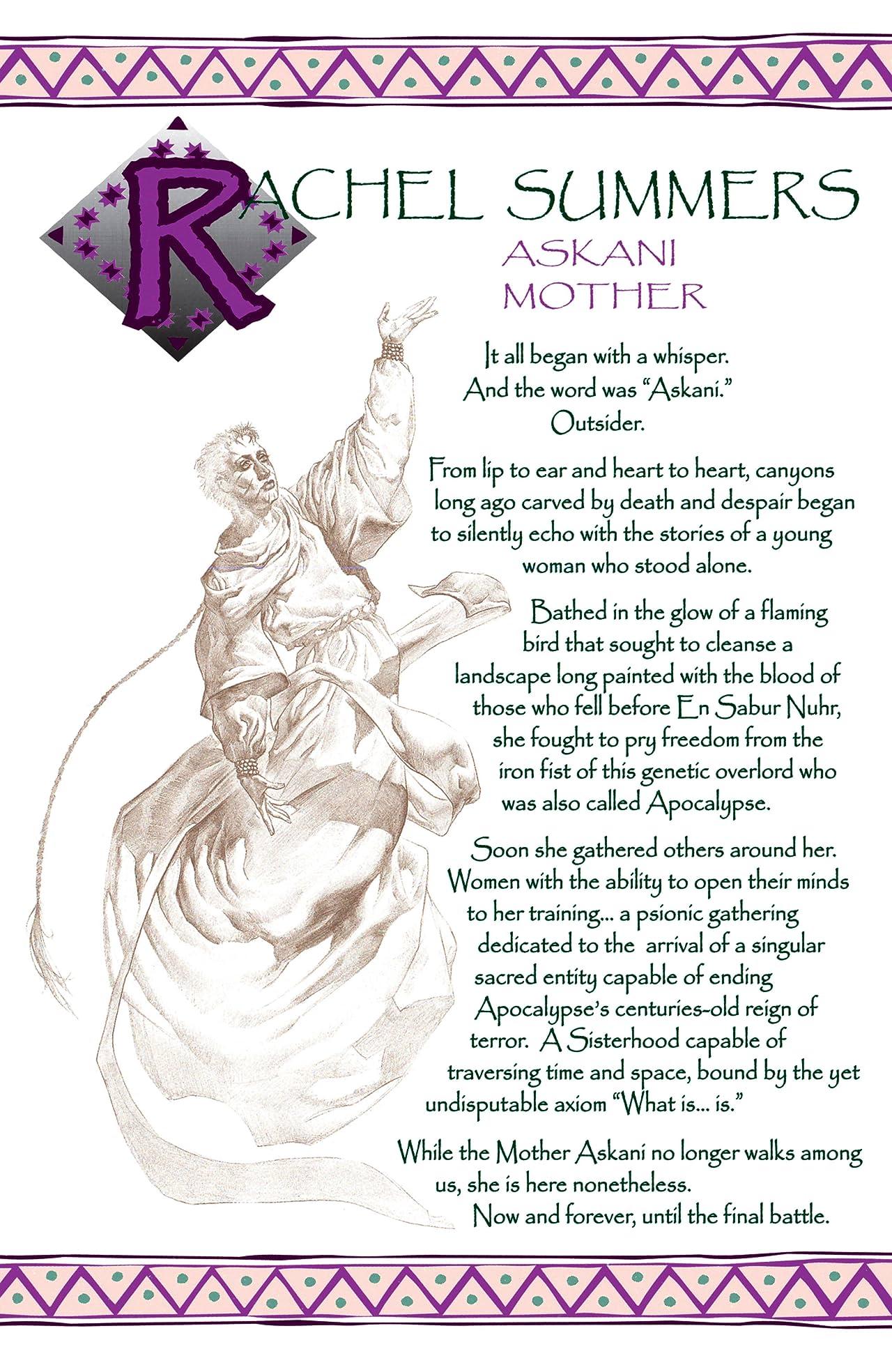 X-Men: Books of Askani
