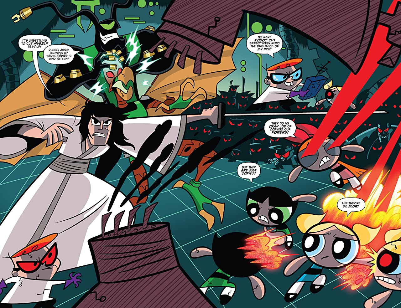 Cartoon Network: Super Secret Crisis War! #4 (of 6)