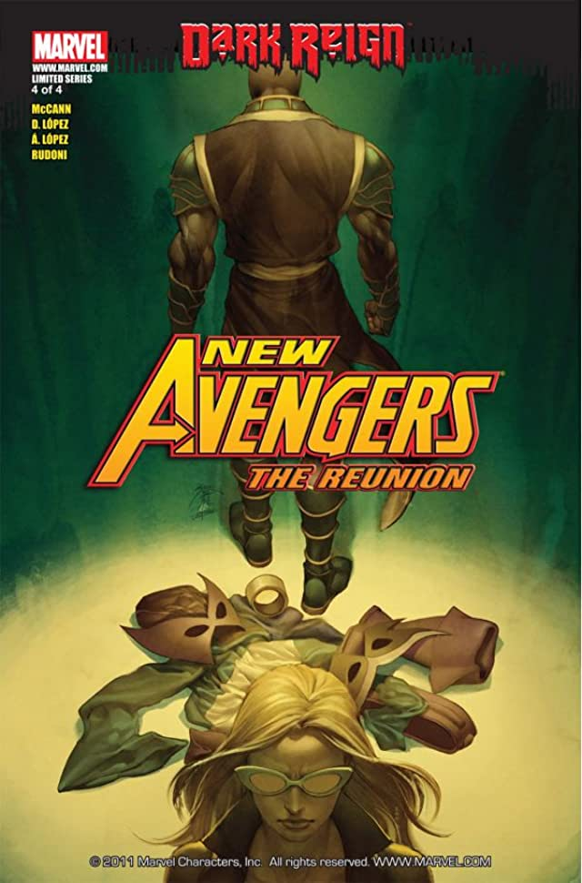 New Avengers: The Reunion #4