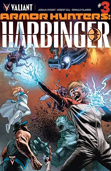 Armor Hunters: Harbinger (2014) #3 (of 3): Digital Exclusives Edition