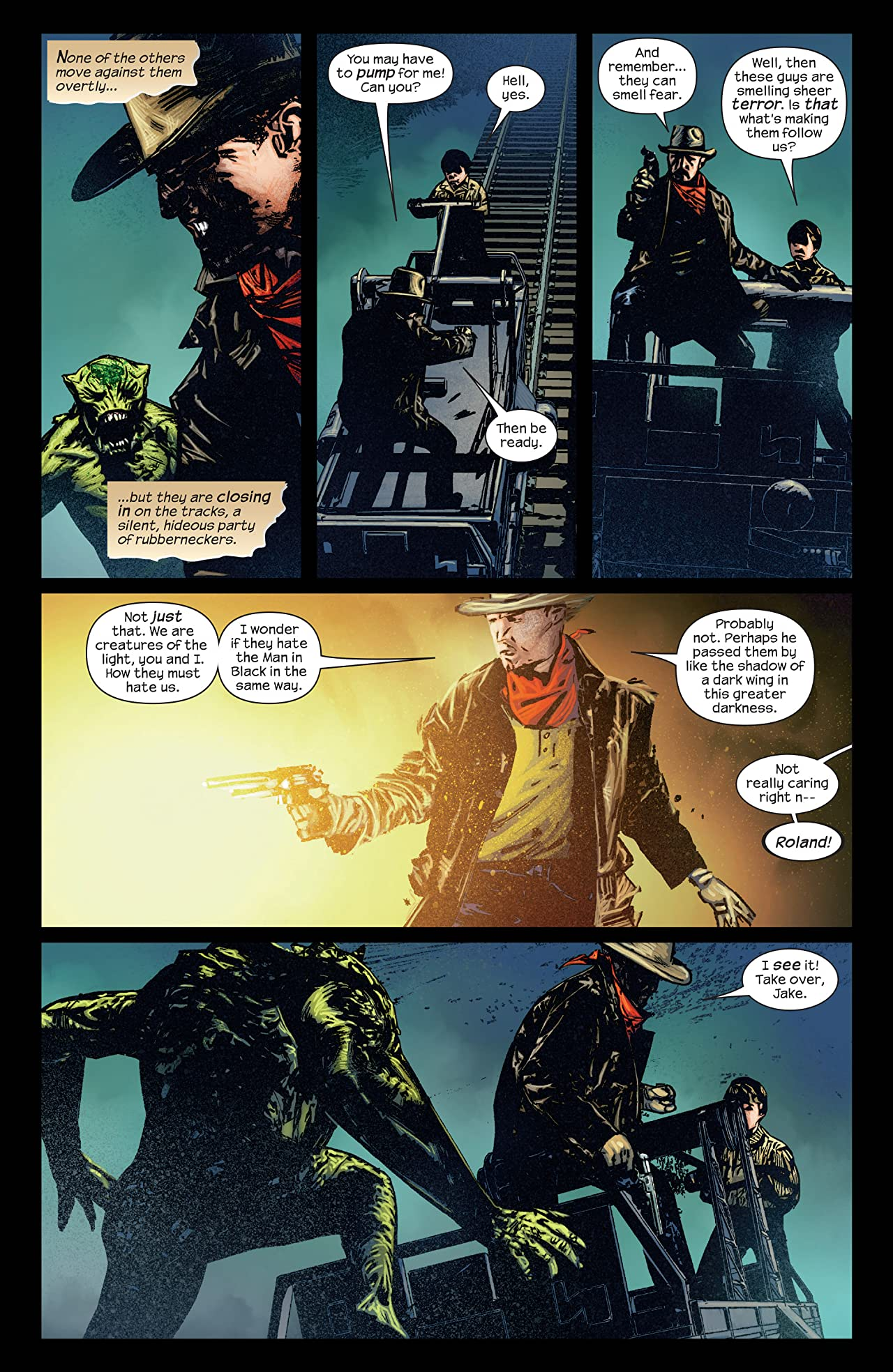 Dark Tower: The Gunslinger - The Man In Black #3 (of 5)