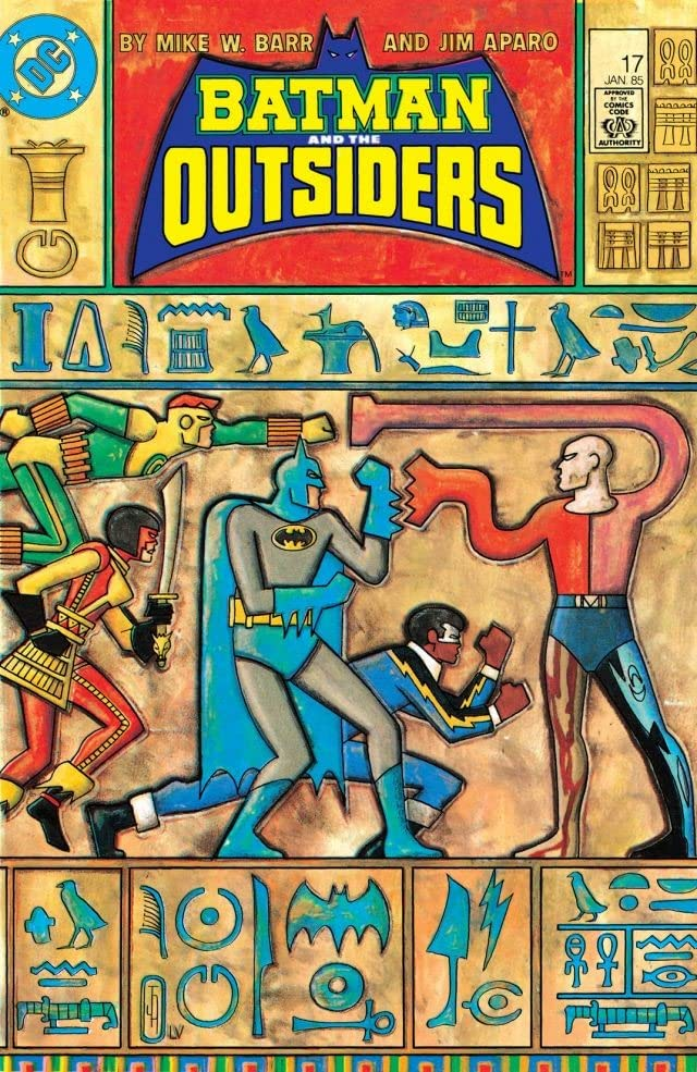 Batman and the Outsiders (1983-1987) #17