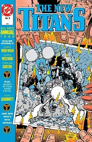 The New Titans (1984-1996): Annual #5