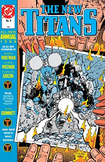 The New Titans (1984-1996): Annual #5