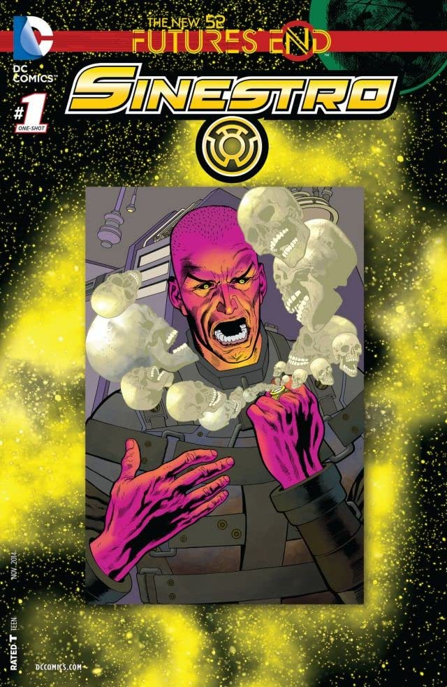 Sinestro (2014-2016) #1: Futures End