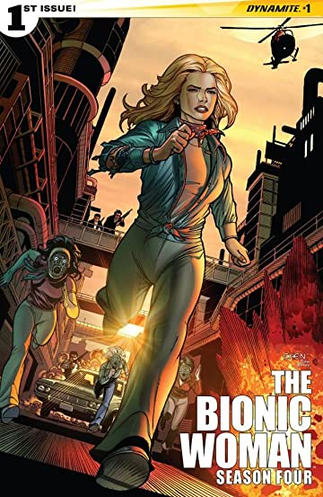 The Bionic Woman: Season Four #1: Digital Exclusive Edition