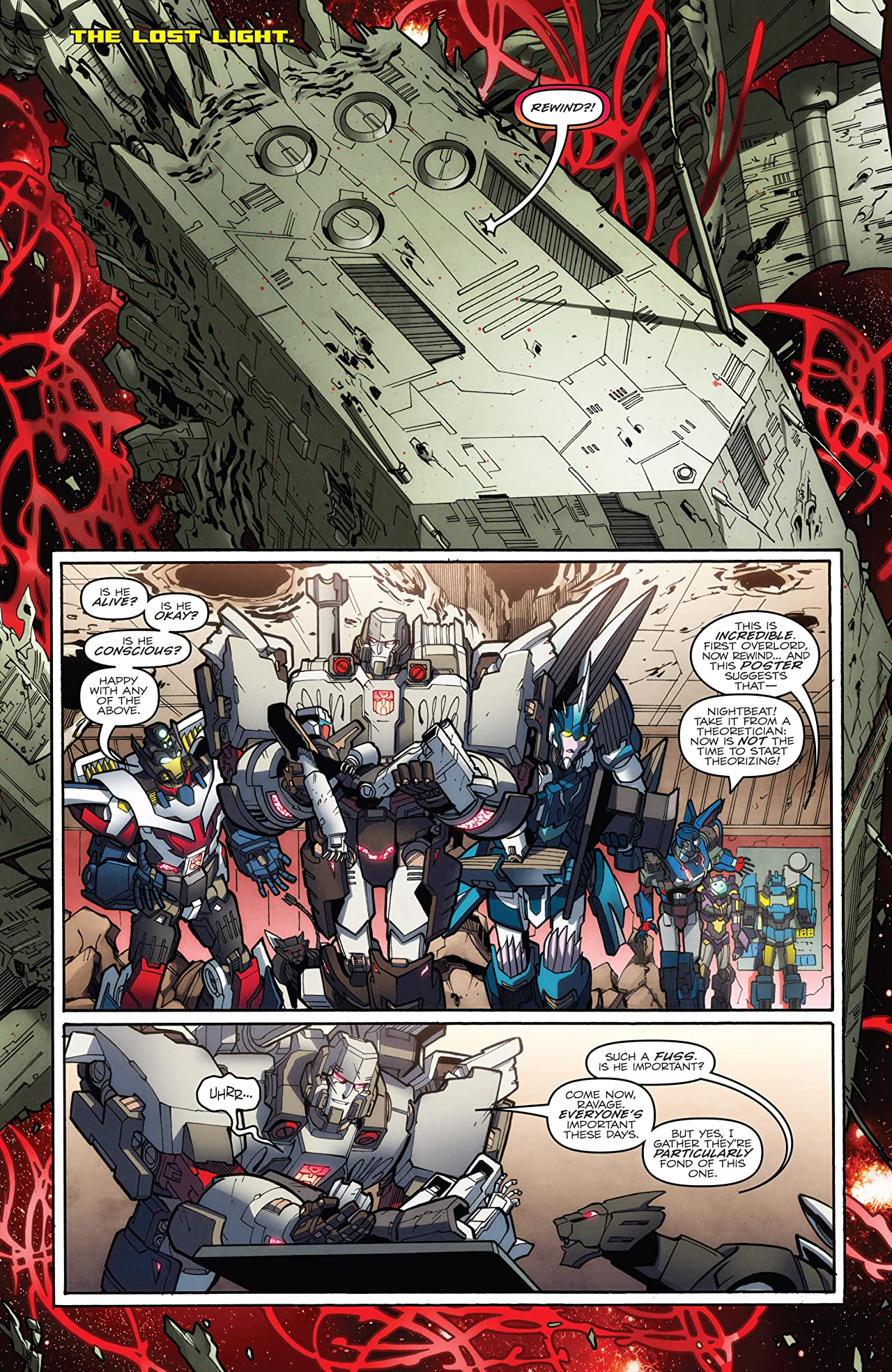 Transformers: More Than Meets the Eye (2011-2016) #33: Dawn of the Autobots