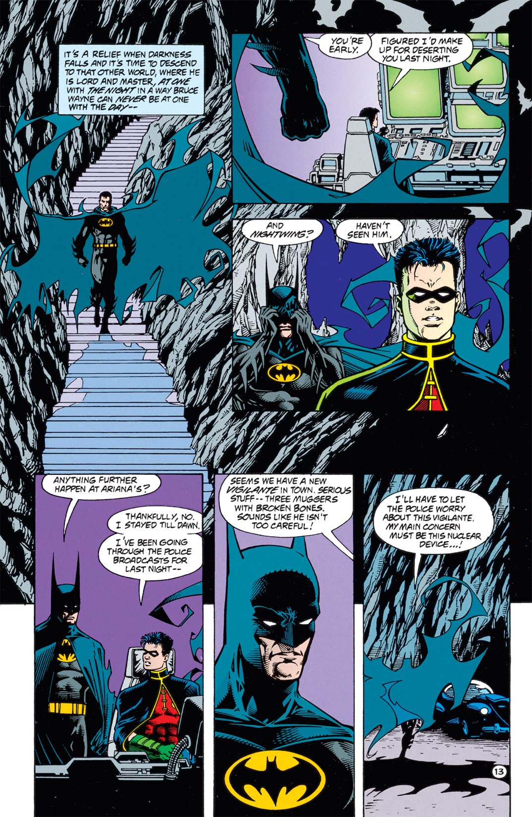 Batman: Shadow of the Bat #35