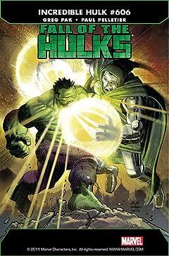 Incredible Hulk (2009-2011) #606