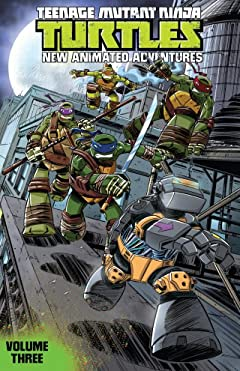 Teenage Mutant Ninja Turtles: New Animated Adventures Vol. 3