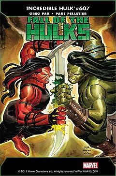 Incredible Hulk (2009-2011) #607