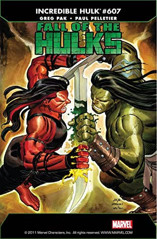Incredible Hulk (2009-2011) #607