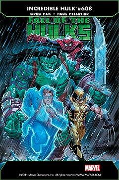 Incredible Hulk (2009-2011) #608