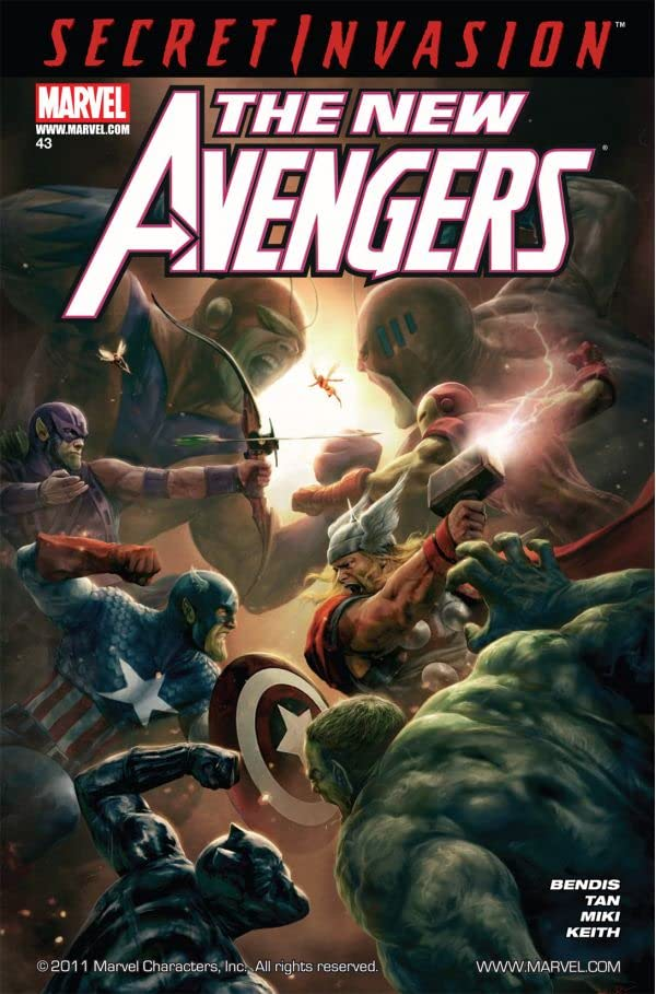 New Avengers (2004-2010) #43