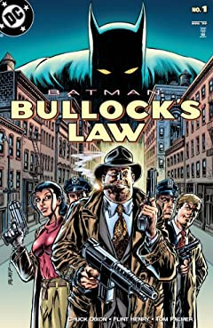 Batman: Bullock's Law (1999) #1
