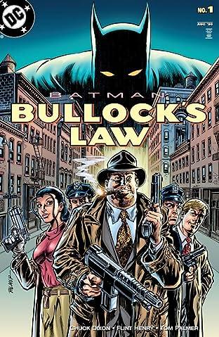Batman: Bullock's Law (1999) #1