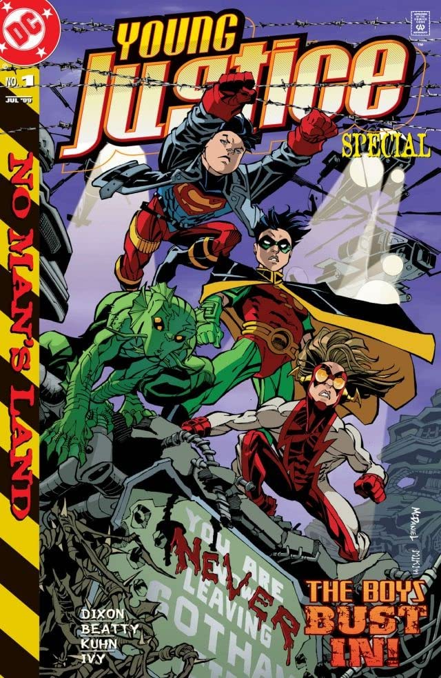 Young Justice In No Man's Land (1999-) #1