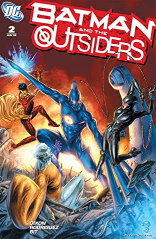 Batman and the Outsiders No.2