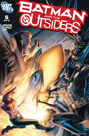 Batman and the Outsiders No.5