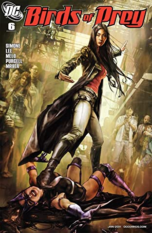 Birds of Prey (2010-2011) #6