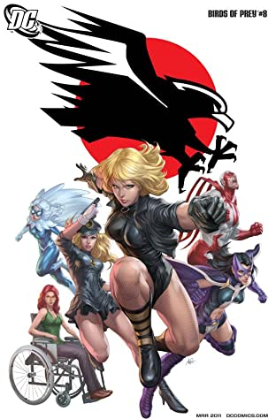 Birds of Prey (2010-2011) No.8
