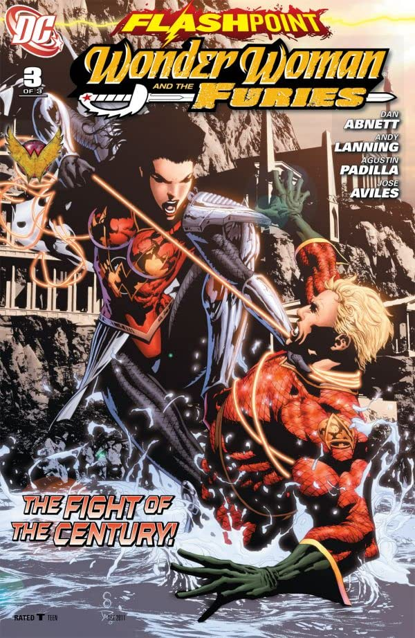 Flashpoint: Wonder Woman and the Furies #3