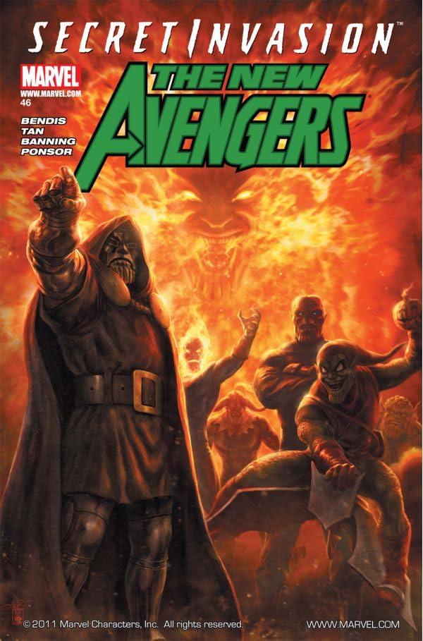 New Avengers (2004-2010) #46