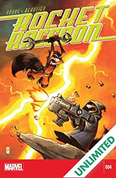 Rocket Raccoon (2014-2015) #4