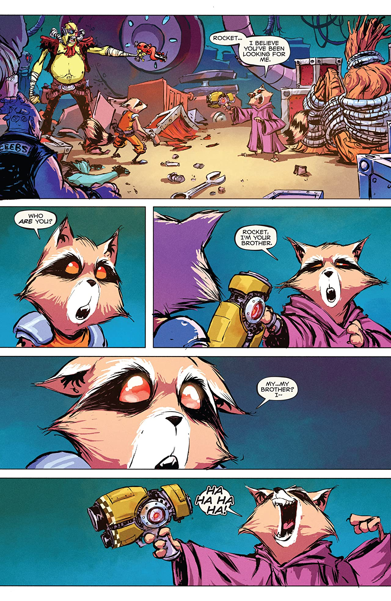 Rocket Raccoon (2014-2015) #4 - Comics by comiXology