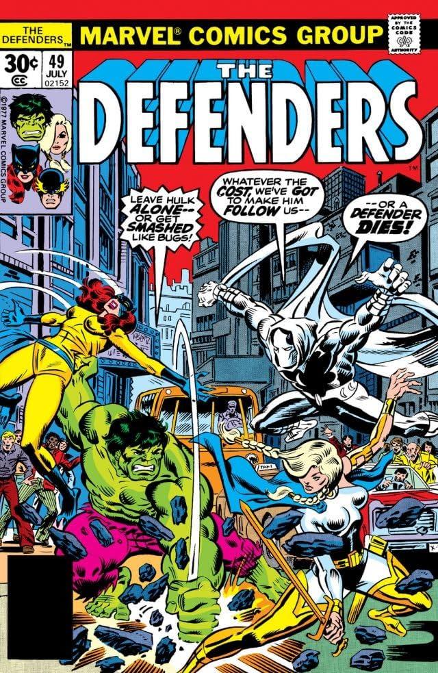 Defenders (1972-1986) #49