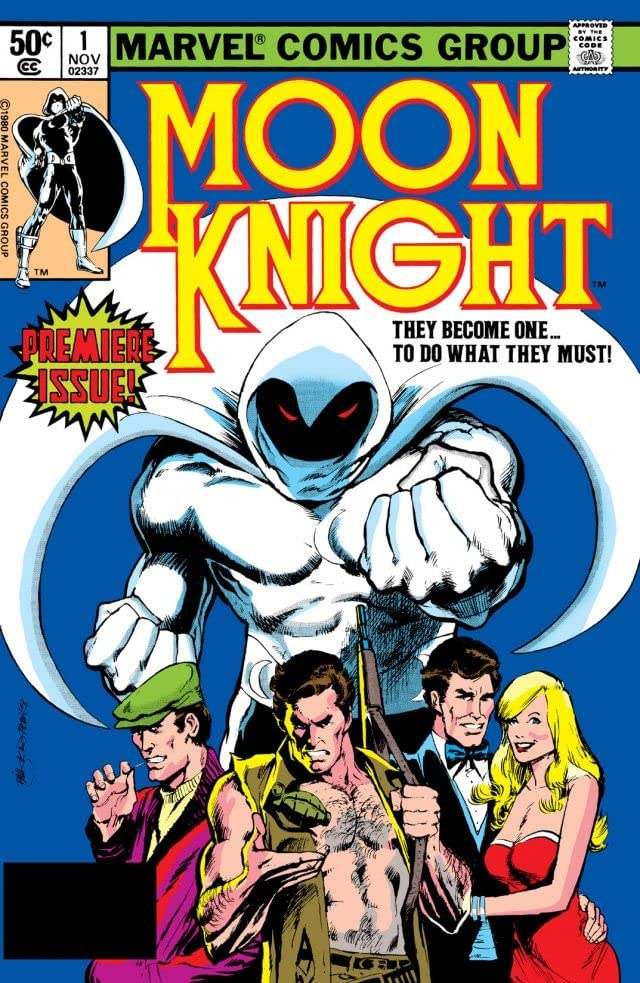 Moon Knight (1980-1984) No.1