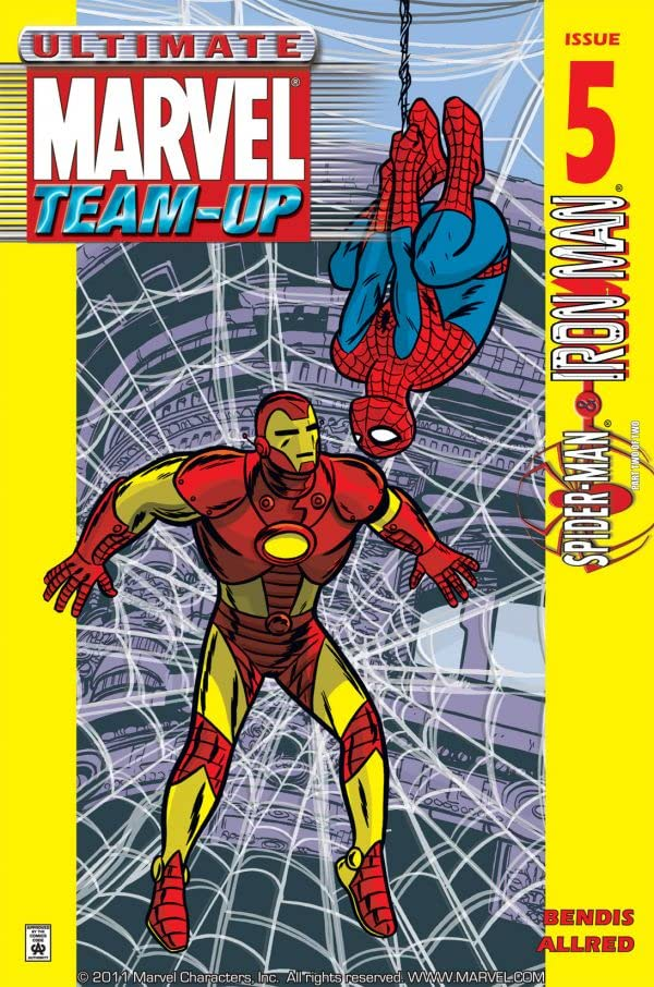 Ultimate Marvel Team-Up (2001-2002) #5