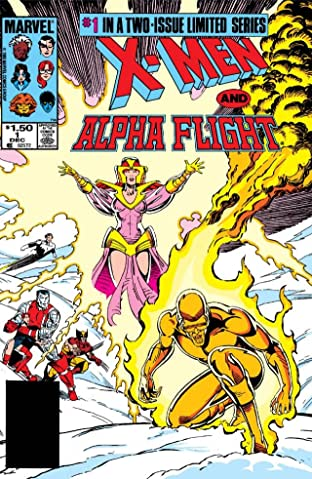 X-Men/Alpha Flight (1985) No.1 (sur 2)