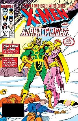 X-Men/Alpha Flight (1985) #2 (of 2)